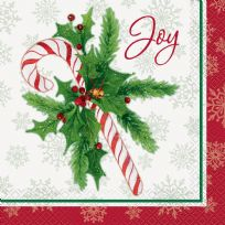 Candy Cane Christmas Napkins (16)
